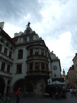 Cervecería Hofbräuhaus donde se proclamó el Programa de 25 puntos del partido nazi. Munich (Alemania).
